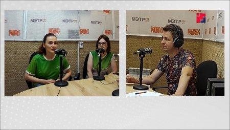 """На одной волне (телеверсия):  """"Зеленый фитнес"""" Анастасия Колпащикова и Екатерина Староверова"""